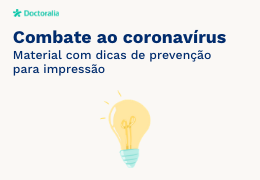 Dicas de combate ao coronavírus - Doctoralia