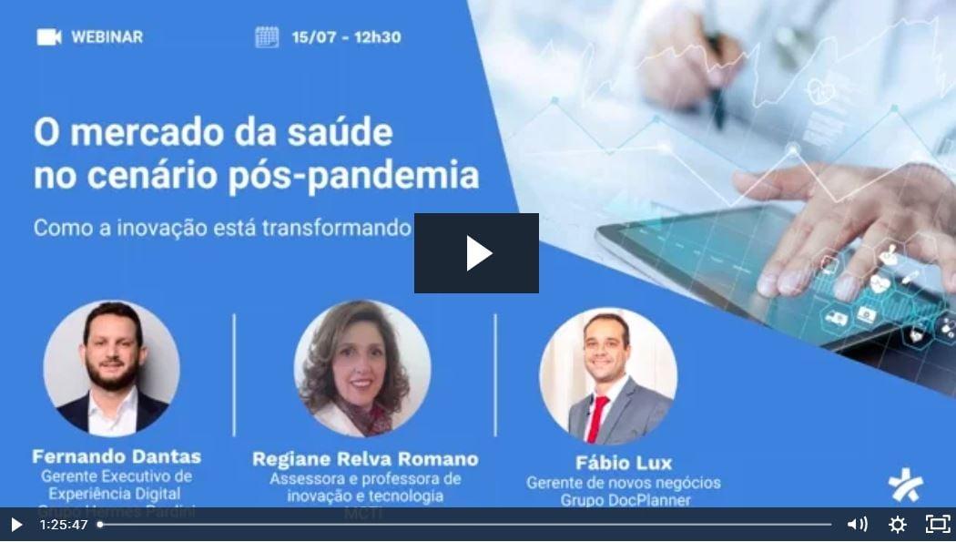 Webinar saúde pós pandemia - Doctoralia + TuoTempo
