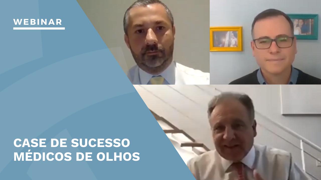 Médicos de Olhos + TuoTempo e Doctoralia webinar
