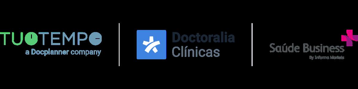 Logos webinar Saúde Business 2