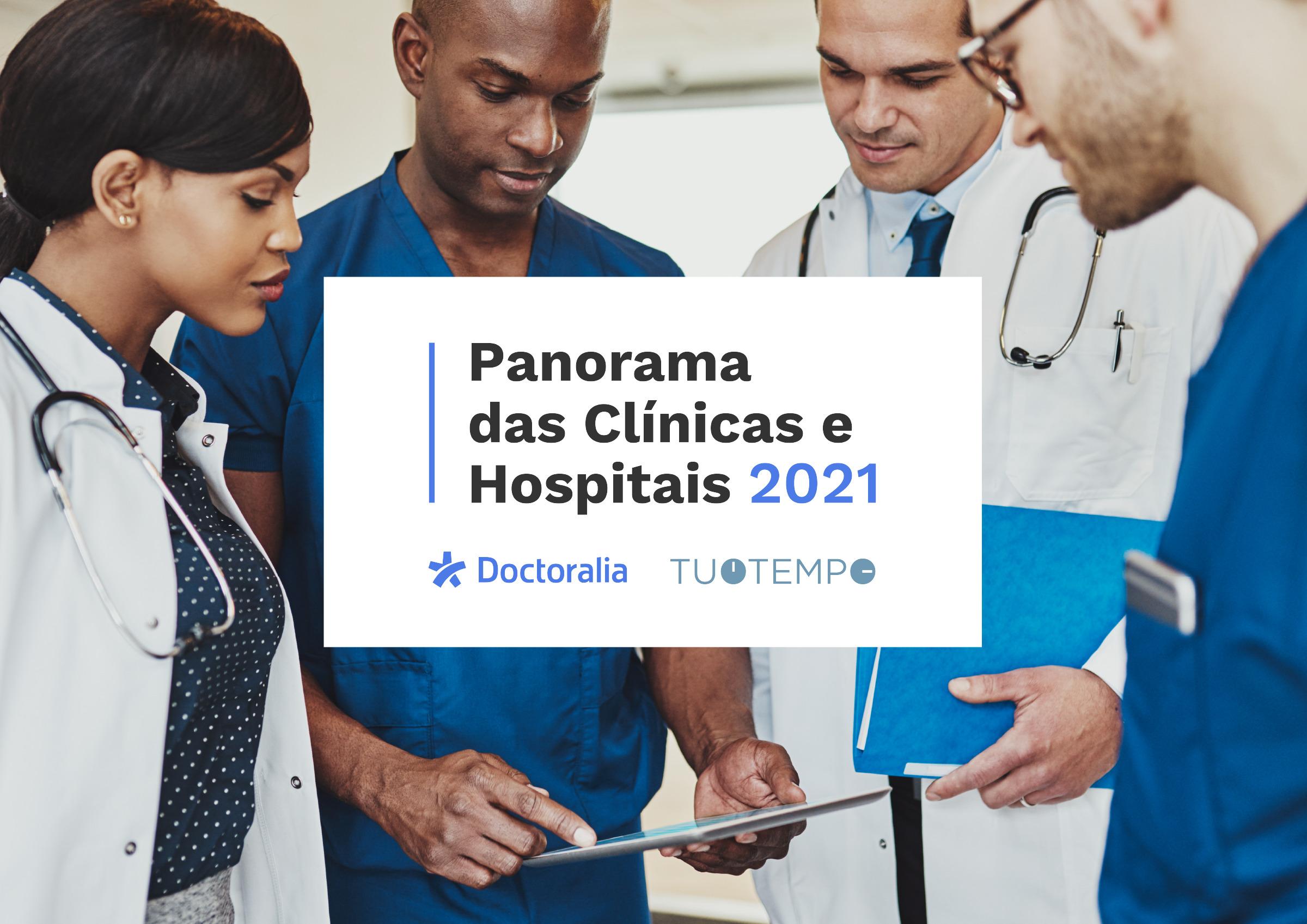 Dados do mercado de saúde no Brasil: Panorama das Clínicas e Hospitais