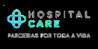 logo hospital care colorida